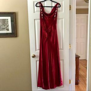 ABS Allen Schwartz Red Gown